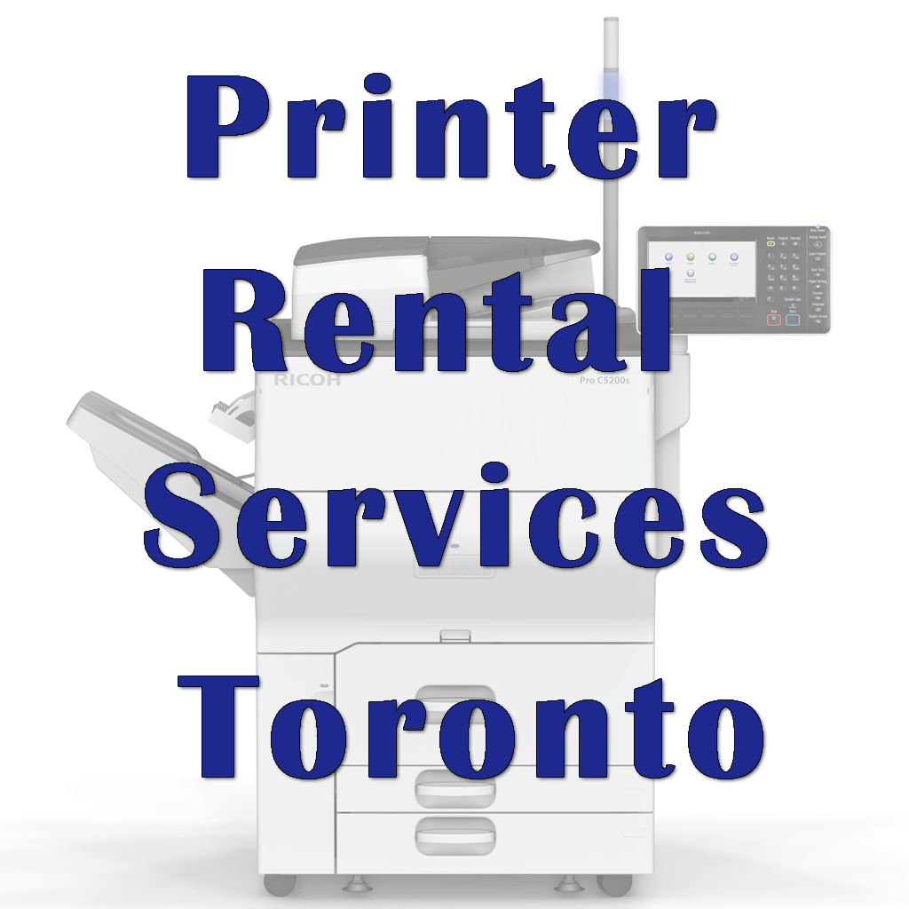 Printer Rental Services Toronto