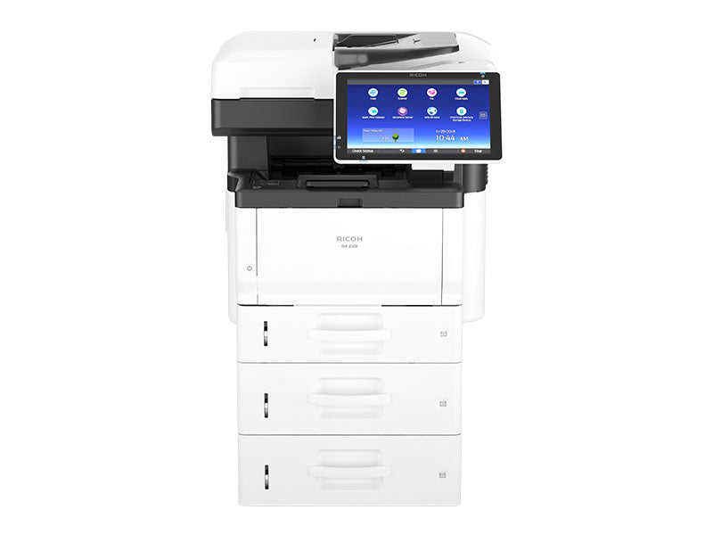 Lease the Ricoh IM 350F/IM 430Fb/IM 430FbTL/IM 430F Multifunction B&W office copier/printer