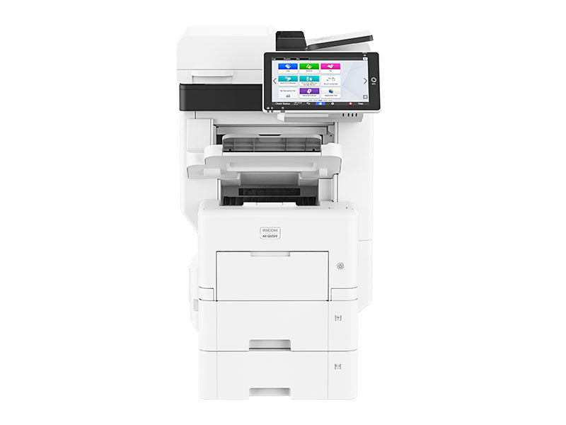 Looking to Lease the Ricoh IM 550F/IM 600SRF Multifunction B&W Office Copier printer?