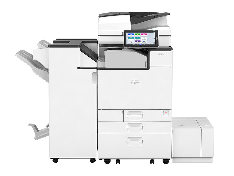 Looking to lease the Ricoh IM C4500/IM C6000 Multifunction Color office copier printer?