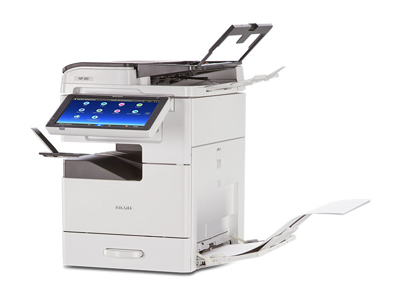 Lease the Ricoh MP 305SPF Multifunction B&W office copier/printer