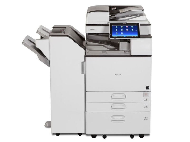 Best Price Ricoh Mp 3555 Black and White Laser Multifunction Printer Financing In Toronto