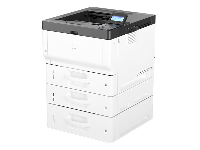 Lease the Ricoh P 501/P 501TL/P 502 Printer B&W Office Copier near me