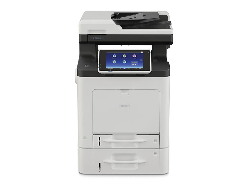 Lease the Ricoh SP C360SFNw/SP C361SFNw Multifunction Color office copier/printer