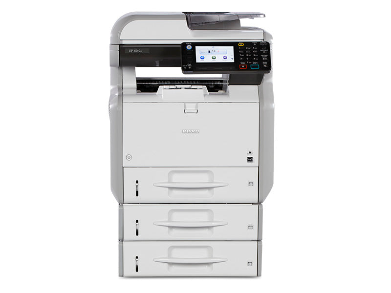 Are you looking to buy or lease to own Ricoh Multifunction B&W SP 4510SF/SP 4510SFTE