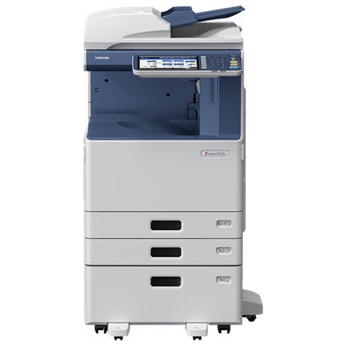 Toshiba e-STUDIO 2555c Color Copier Printer Scanner Scan to Email Fax - Amazing Colour Quality 25 PPM 11x17 REPOSSESSED Only 21k Page Count