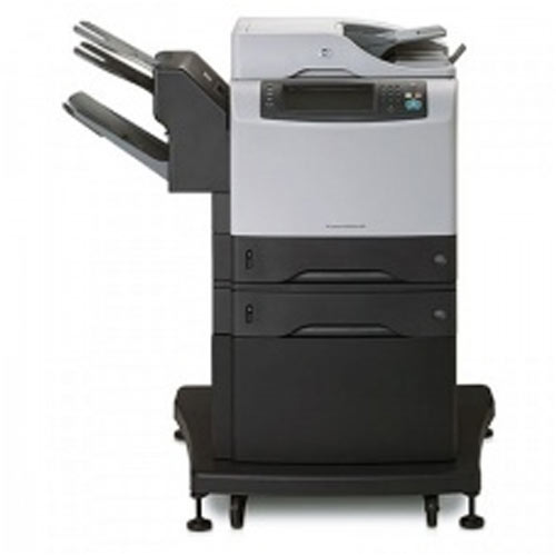 HP 4345mfp 4345 Monochrome Copier Printer Scanner with Stapler Finisher Off-Lease Photocopier Great Deal