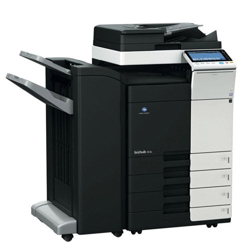 REPOSSESSED Konica Minolta Bizhub 364e Monochrome Printer Copier Scanner 11x17 A3