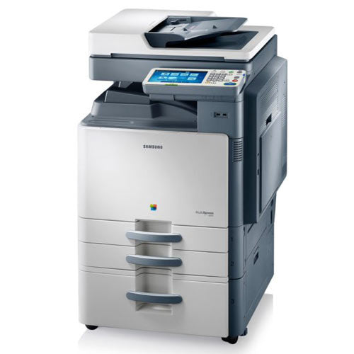 Samsung MultiXpress CLX-9352NA C9352 Color Multifunction Photocopier - REPOSSESSED Only 30k Pages Printed