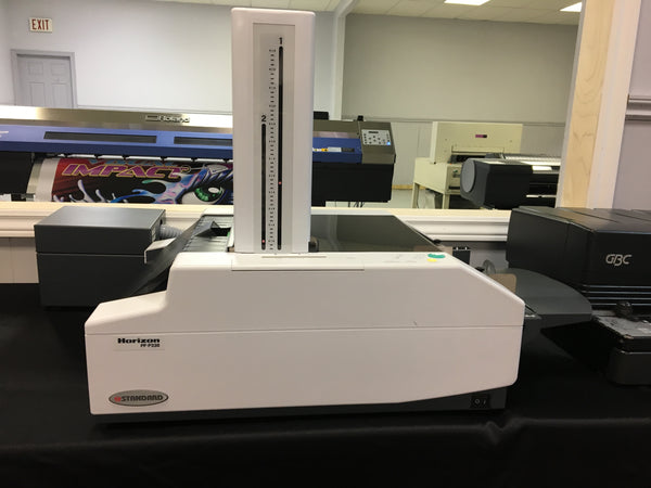 Horizon PF-P330 Desktop Air Feed Automatic Set Up Paper Folder REPOSSESSED LIKE NEW