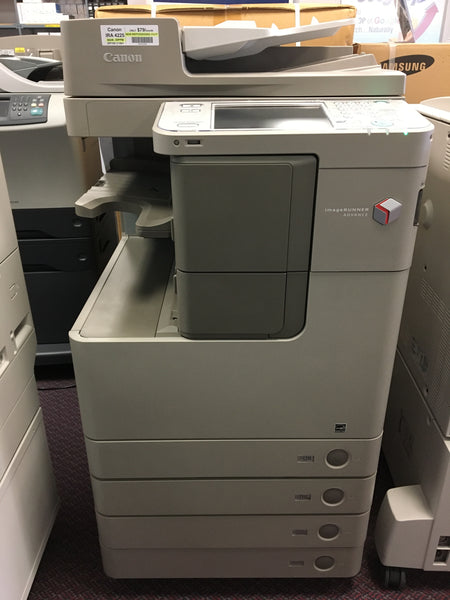Canon imageRUNNER ADVANCE IRA 4225 Monochrome Copier Printer Scanner FAX Scan to Email 11x17 REPOSSESSED only 2k pages