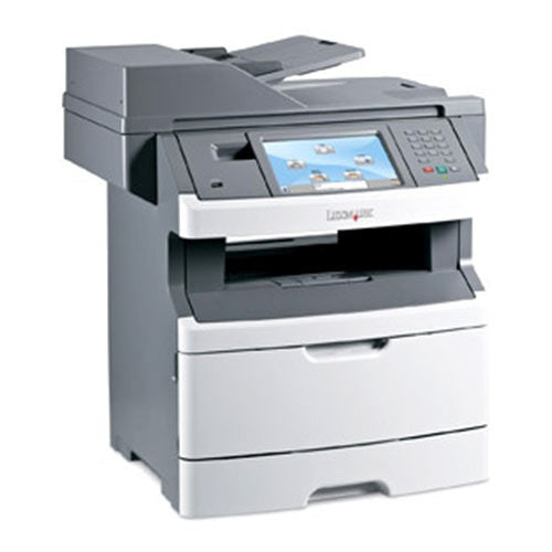 Lexmark X463de 463de Monochrome Multifunction Laser Printer Copier Color Scanner Only 14K Pages Printed