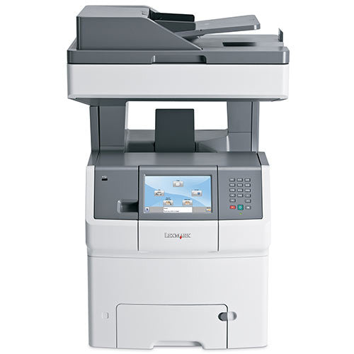 Lexmark XS736de Multifunction Color Laser Copier Printer Fax Scanner