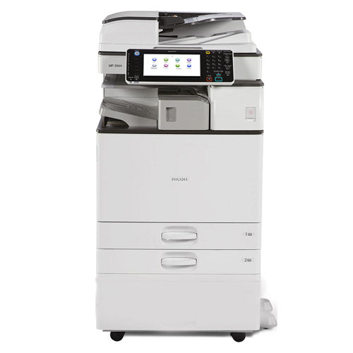 Ricoh MP 3053 Monochrome Printer Copier Color Scanner Copy Machine REPOSSESSED Only 28k Pages Printed