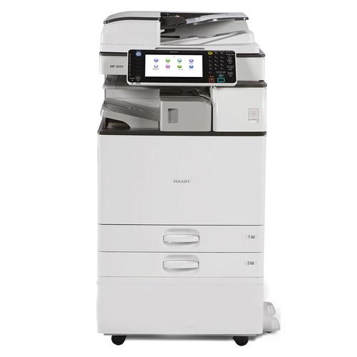 Ricoh MP 3054 Monochrome Multifunction Printer Copier Color Scanner 11x17 A3 Stapler - Only 21K pages