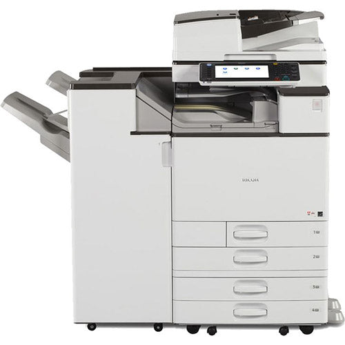 Ricoh MP C4502A 4502 Color Laser Multifunction Printer Copier Scanner Fax Stapler 11x17