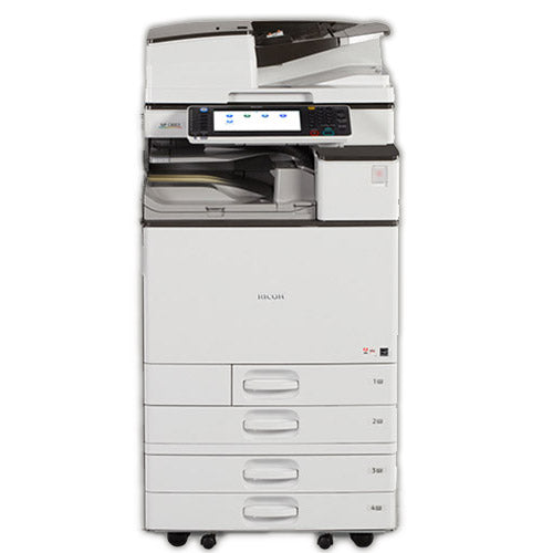 Ricoh MP 2554 Monochrome Multifunction Photocopier Color Scanner 11x17 Finisher -12k pages Printed