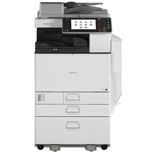 Ricoh Aficio MP C3002 30 PPM Color Digital Imaging Printer Copier Scanner