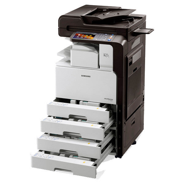NEW Samsung SCX-8128NA Black and White Photocopier Laser Printer, Scanner, Scan to email, b&w Copier - Toronto Copiers - 2