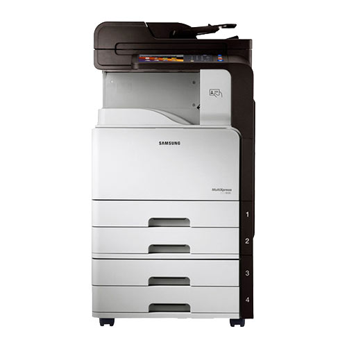 $56/month - Samsung SCX-8128NA Monochrome Printer Copier Scanner Scan 2 email 11x17 Only 3k pages