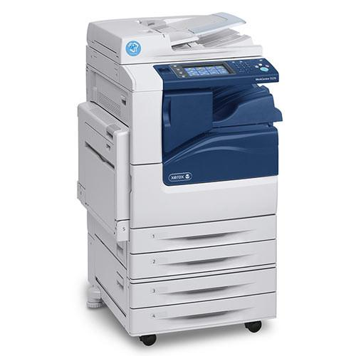 Xerox WC 7220i Color Multifunction Printer Scanner Copier 11x17 - Repossessed only 3734 pages