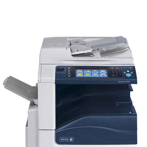 REPOSSESSED Xerox WorkCentre 7855 WC 7855i Color Laser Multifunction Printer Demo Unit Only 62 Pages Printed