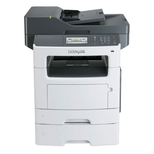 Lexmark XM1145 Multifunction Monochrome Laser Printer Scanner Copier Scan to Email Fax With 2 Trays Only 41K Pages Printed