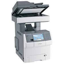 Lexmark XS736de Multifunction Color Laser Copier Printer Fax Scanner - Toronto Copiers - 3
