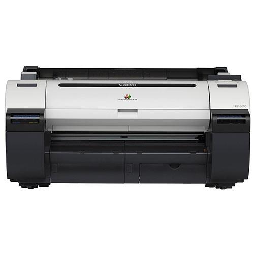 "Canon imagePROGRAF iPF670 Large Format Printer 24""  NEW"