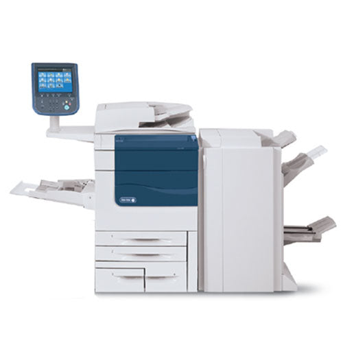 Xerox Color 560 Digital Production Printer office Copier with booklet maker finisher REPOSSESSED Only 98k pages printed