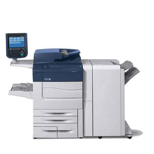 REPOSSESSED Only 20k Pages - Xerox Color C70 High Speed Printer Photocopier with finisher Fiery Stapler