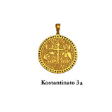 14K Yellow Gold Konstantinato with cubic zirconias