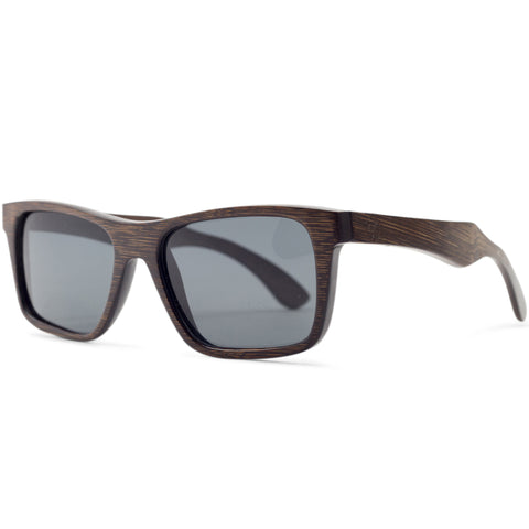 Stringer | Dark Bamboo Sunglasses