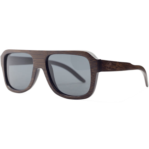 Beach Cruiser | Dark Bamboo Sunglasses