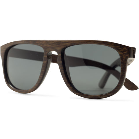The Longboard | Dark Bamboo Sunglasses