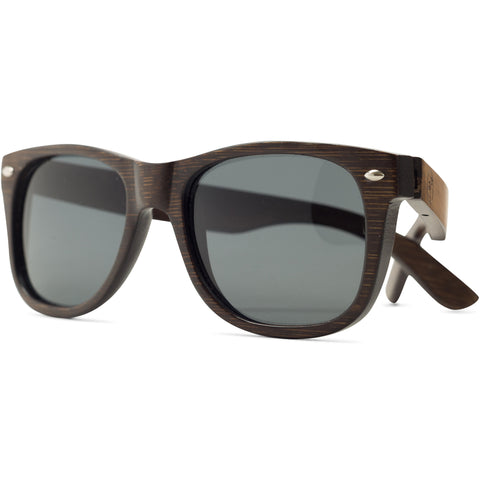 Maverick | Dark Bamboo Sunglasses