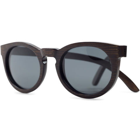 Key | Dark Bamboo Sunglasses
