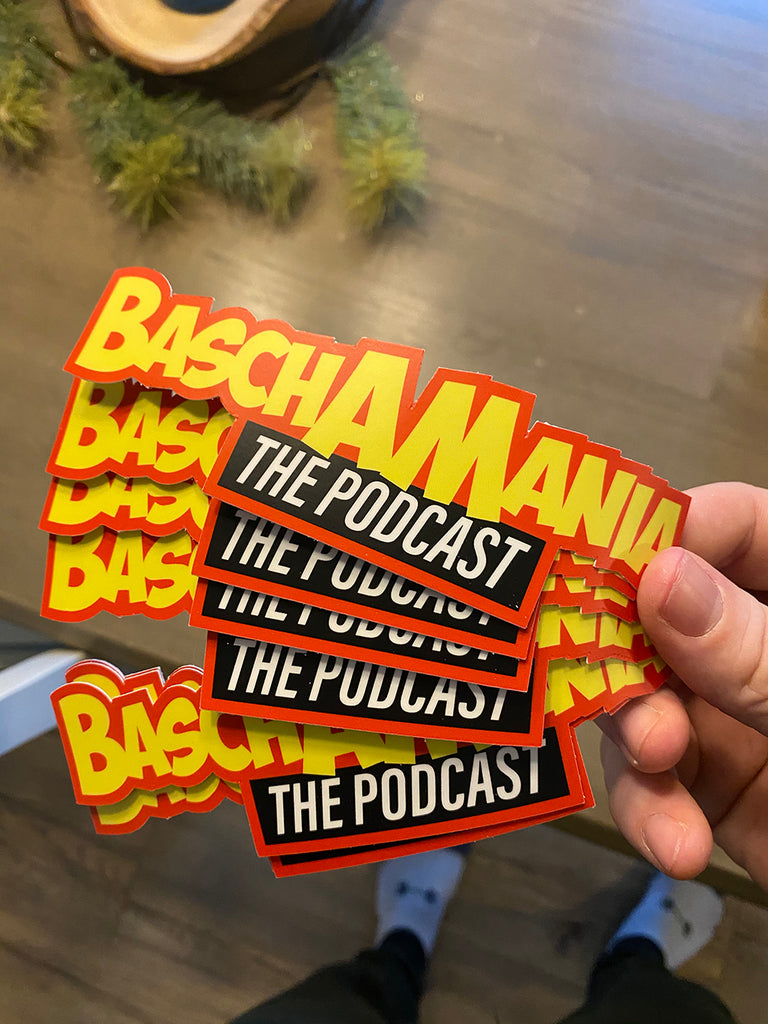 "BASCHAMANIA 6"" STICKER"
