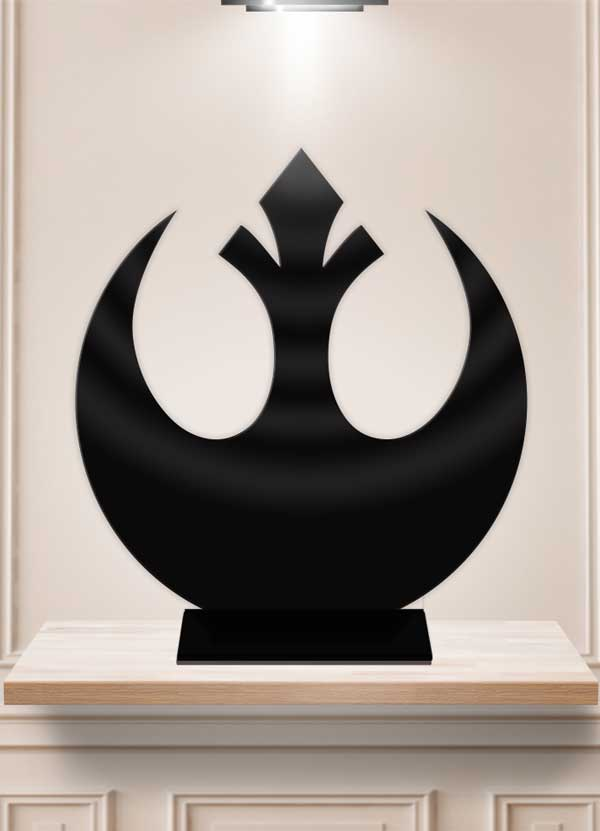 Star Wars Republic Alliance Table Decor Display Centerpiece Stand - Bee3dgifts