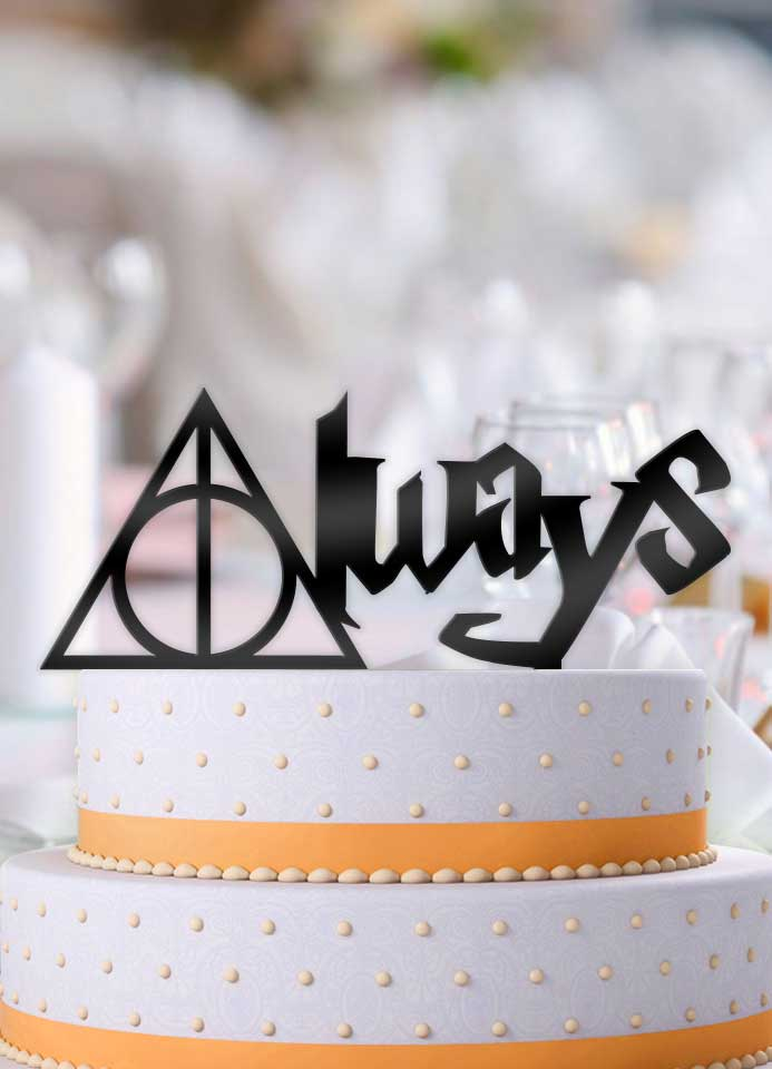 Harry Potter Always Floating Wedding Cake Topper - Bee3dgifts