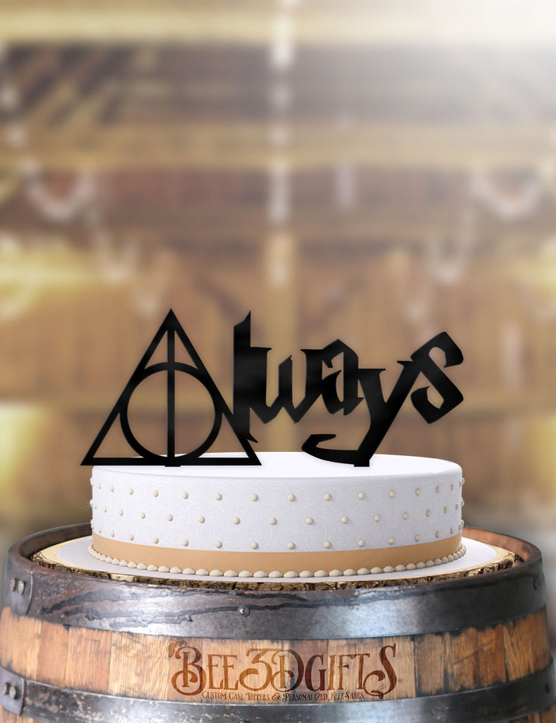 Harry Potter Always Floating Cake Topper - Bee3dgifts