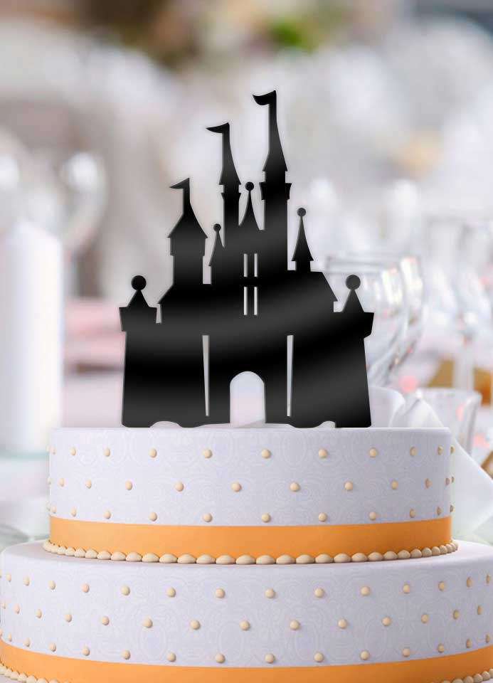 Disney Castle Wedding Cake Topper - Bee3dgifts