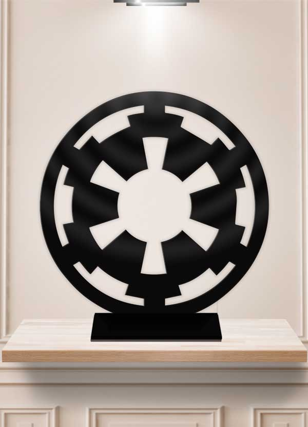 Star Wars Galactic Empire Table Decor Display Centerpiece Stand - Bee3dgifts