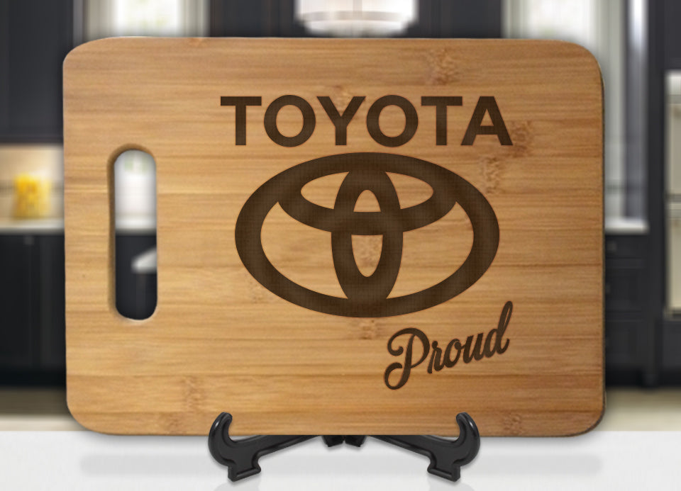 Toyota Proud Engraved Cutting Board