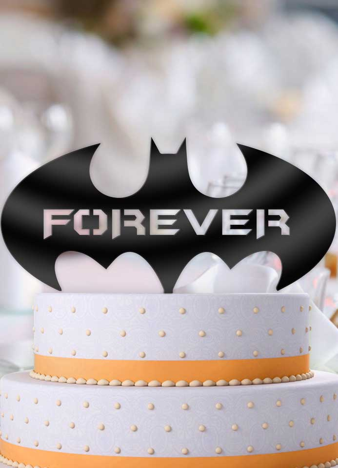 Batman Forever Cake Topper - Bee3dgifts