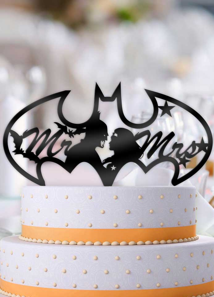 D Batman Cake Topper