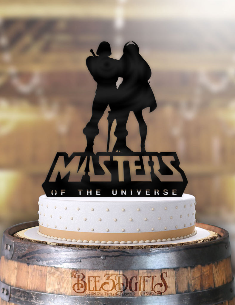 He-man and She-ra Masters of the Universe Cake Topper - Bee3dgifts