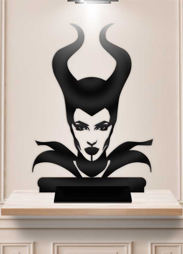 Maleficent Table Decor Display Centerpiece Stand - Bee3dgifts