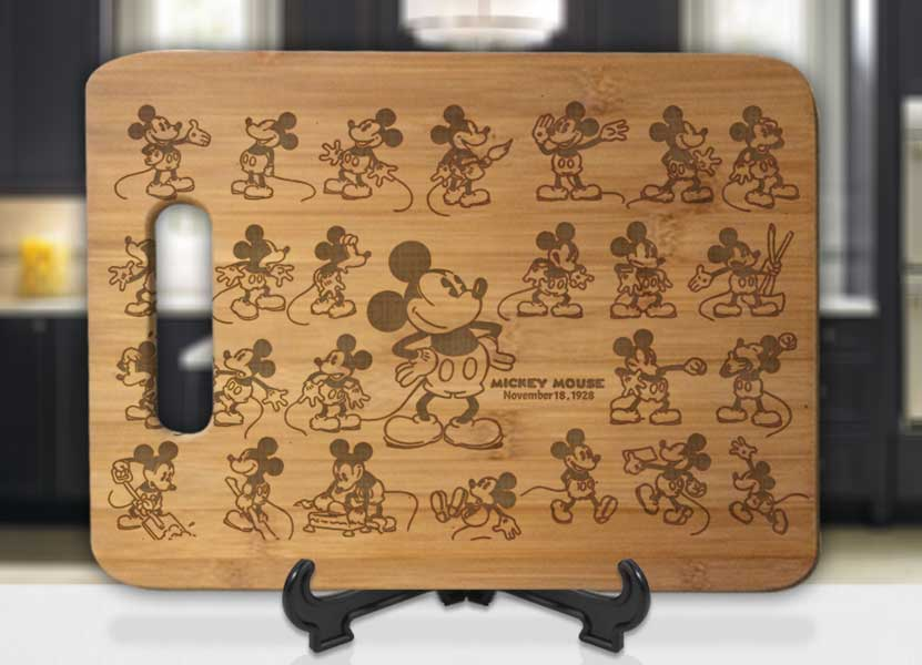 Mickey Mouse Memories Engraved Cutting Board - Bee3dgifts
