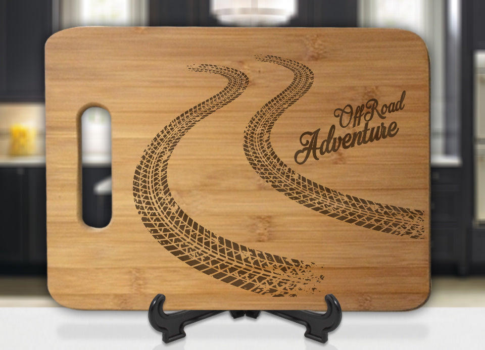OFF-ROAD ADVENTURE Engraved Cutting Board - Bee3dgifts